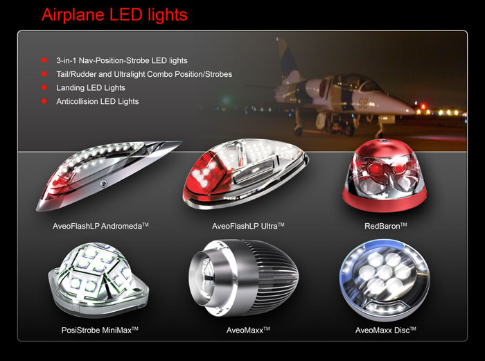 Airplane LED lights